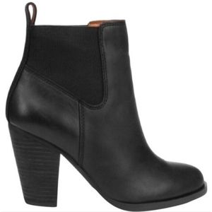 Lucky Brand Parlei Ankle Leather Bootie Boots 6.5